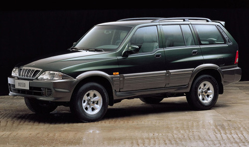 2000 Ssangyong Musso #3