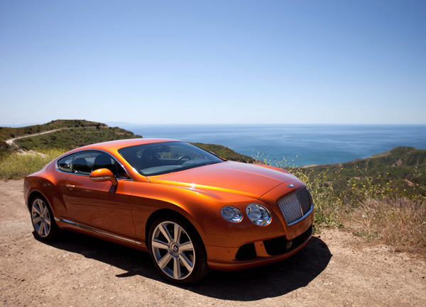 2012 Bentley Continental Gt #15