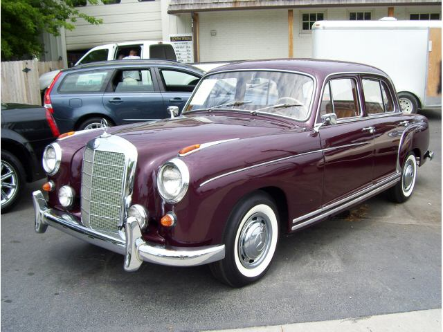 1955 mercedes benz 220 photos informations articles for 1958 mercedes benz 220s for sale