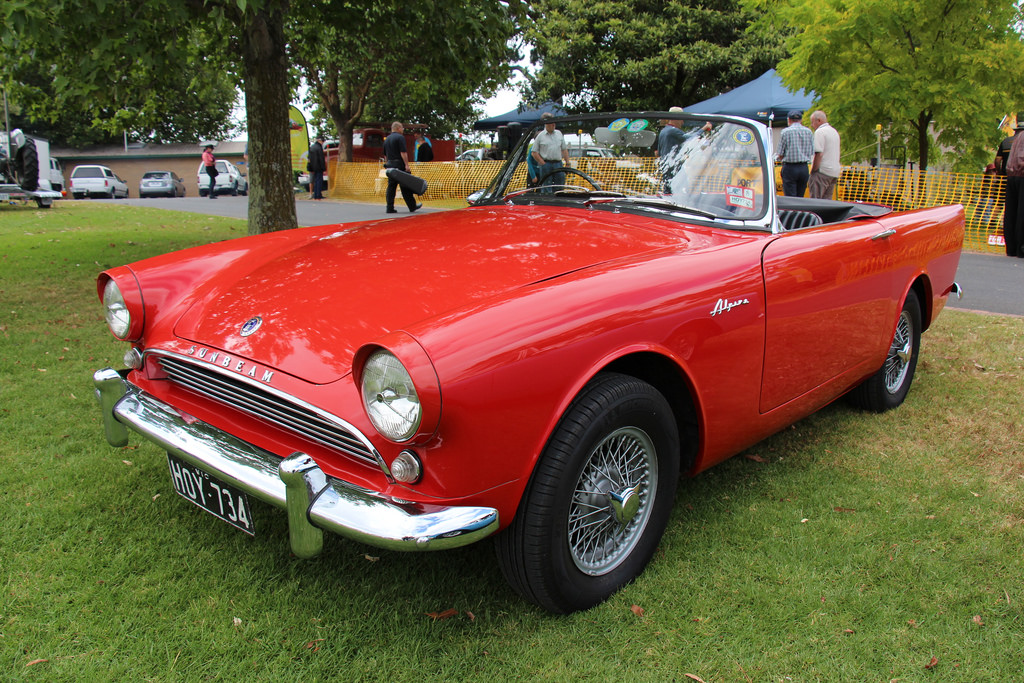 1962 Sunbeam Alpine #13