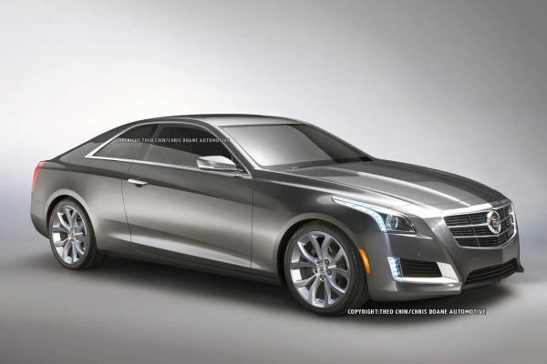 2014 Cadillac Cts Coupe #6