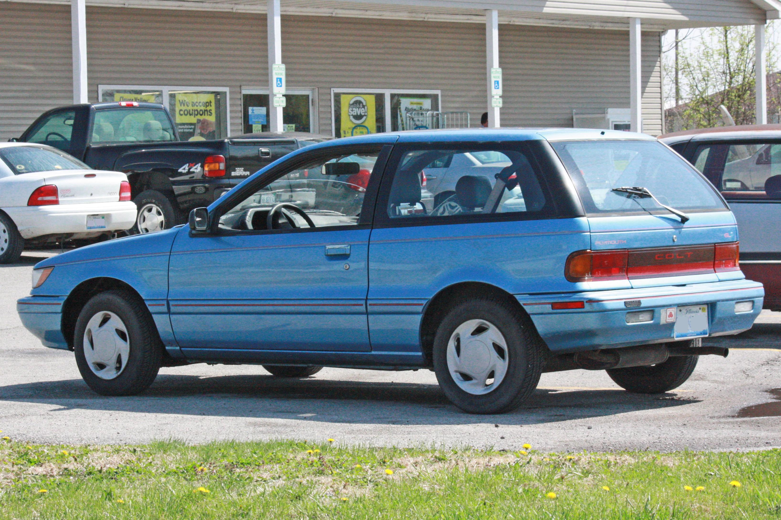 1990 Plymouth Colt #3