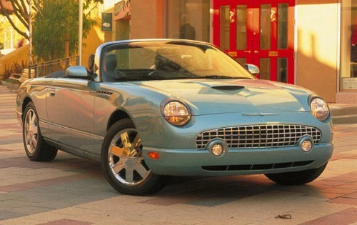 2002 Ford Thunderbird #6