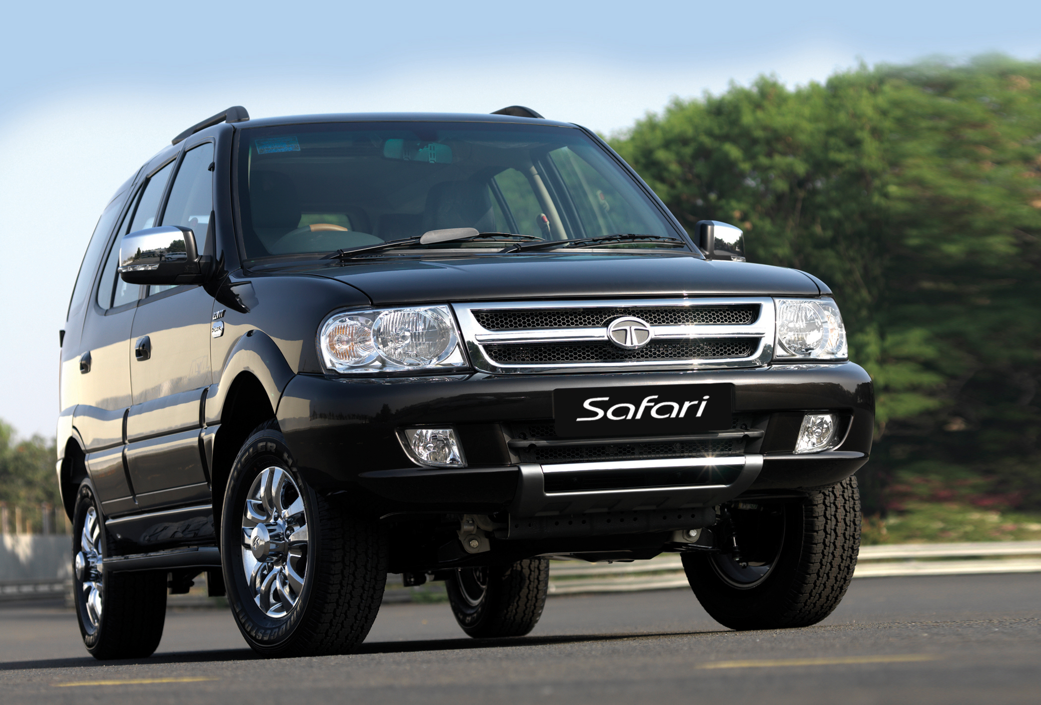 2002 Tata Safari #15