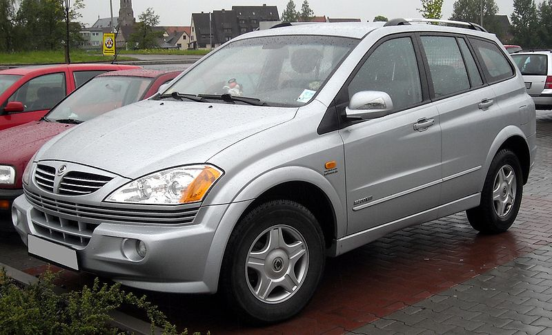 2005 Ssangyong Actyon #10
