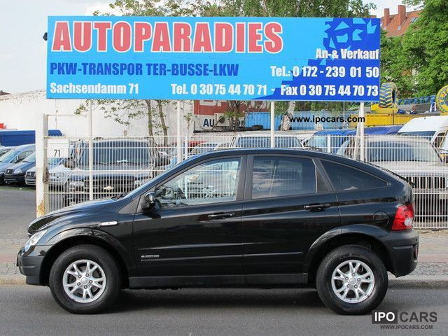 2007 Ssangyong Actyon #8