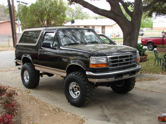 1996 Ford Bronco #4