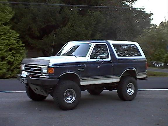 1990 Ford Bronco #13
