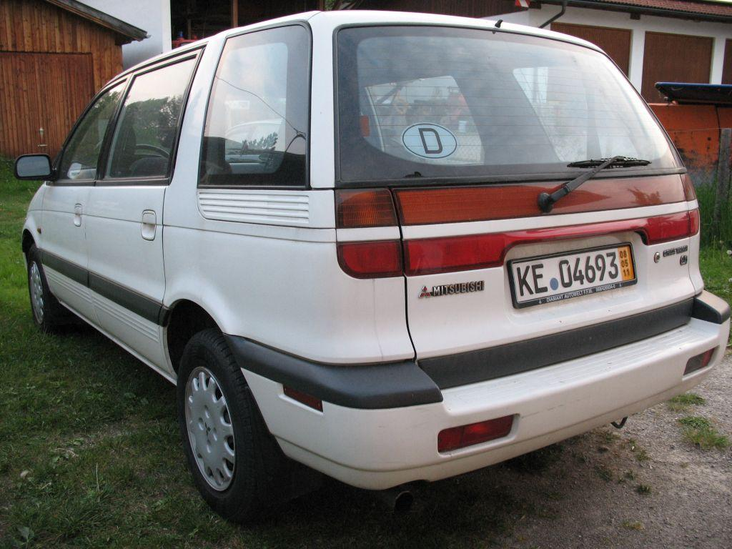 1991 Mitsubishi Space Wagon #15