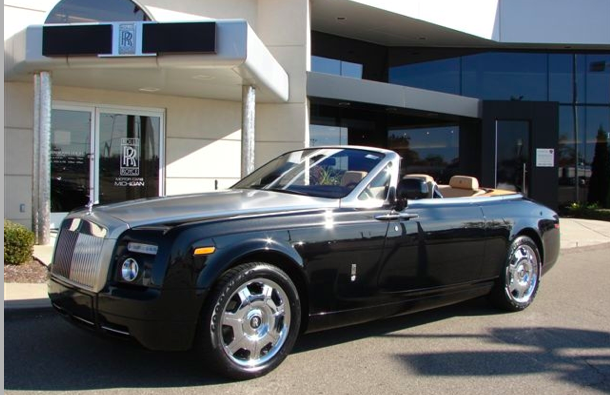 2011 Rolls royce Phantom Drophead Coupe #3