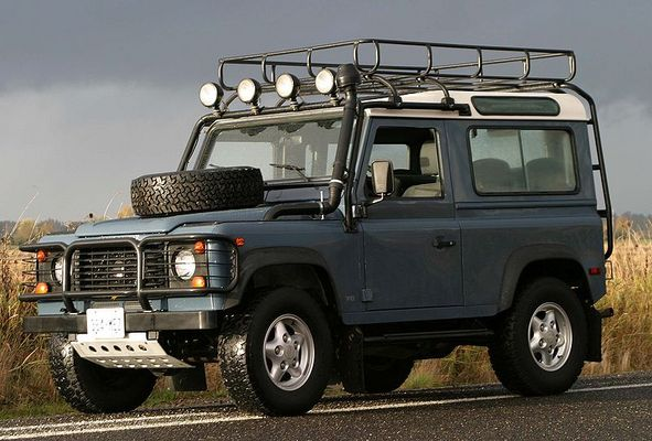 1994 Land Rover Defender #10
