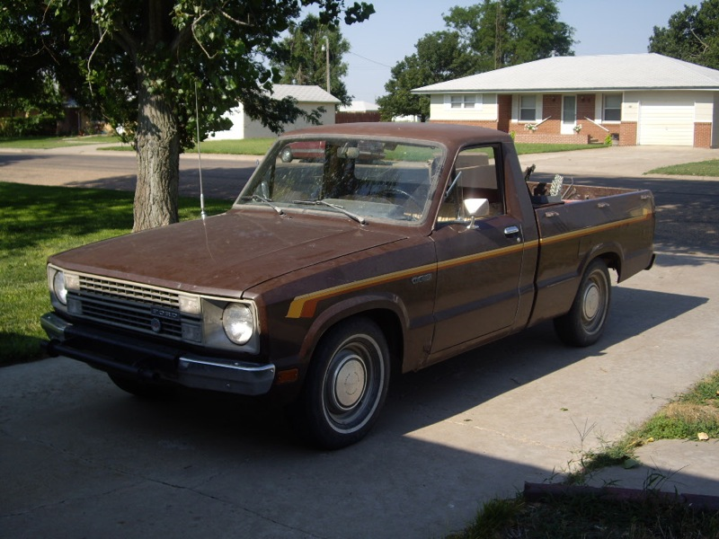 1989 Ford Courier #7
