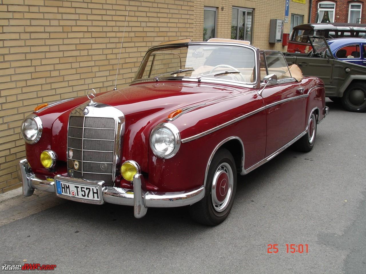 1958 mercedes benz ponton photos informations articles for Mercedes benz vintage cars
