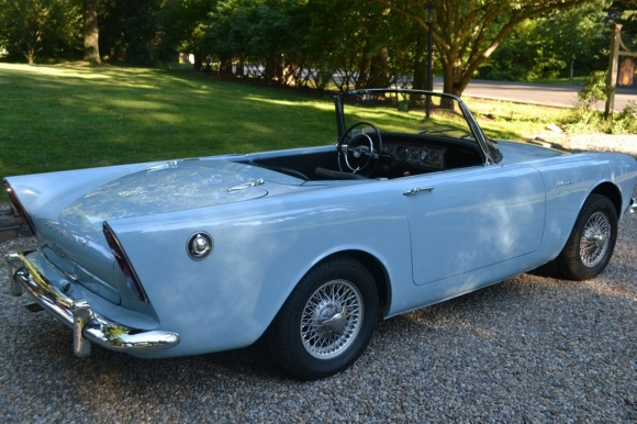 1962 Sunbeam Alpine #4