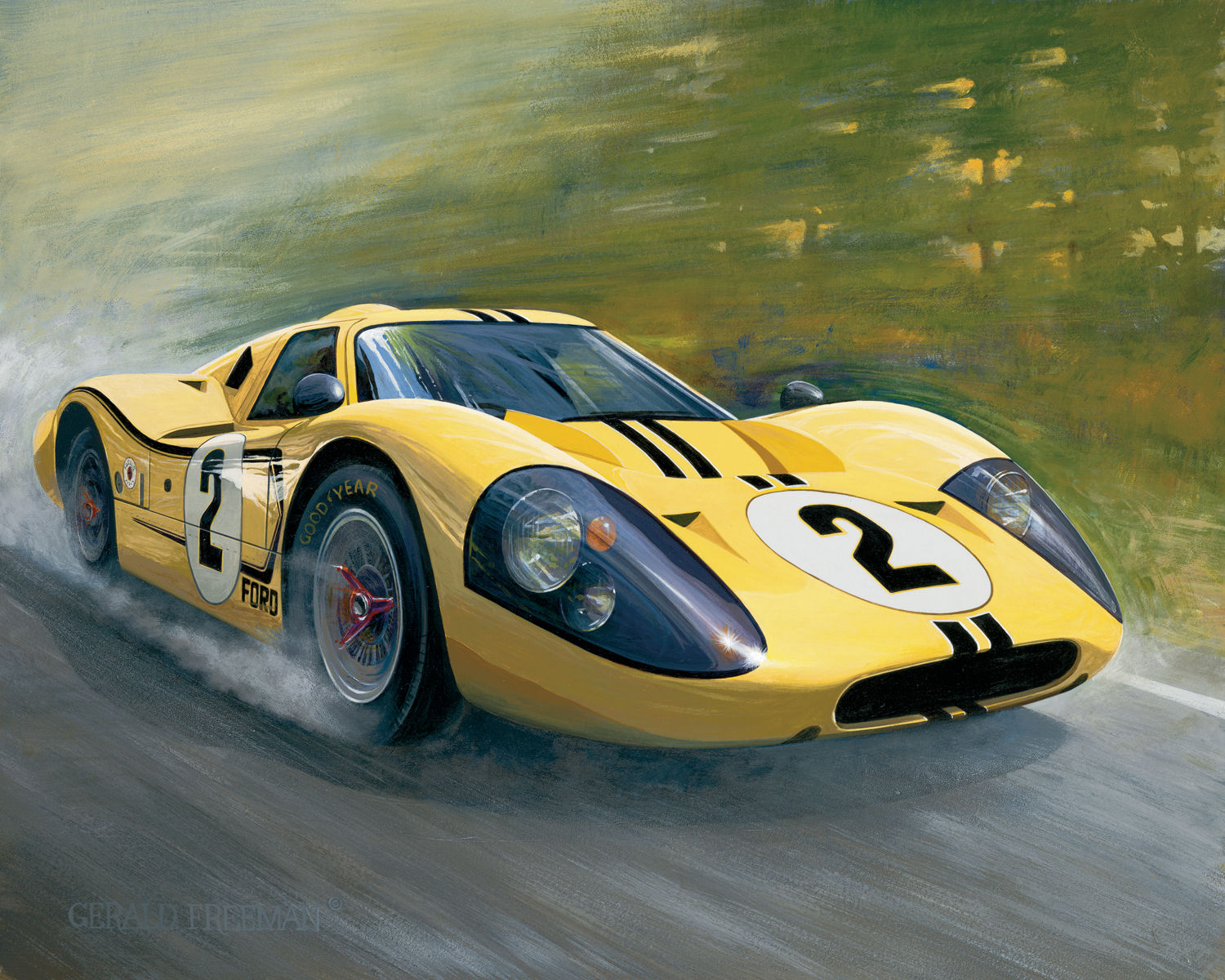 1967 Ford GT 40 #10
