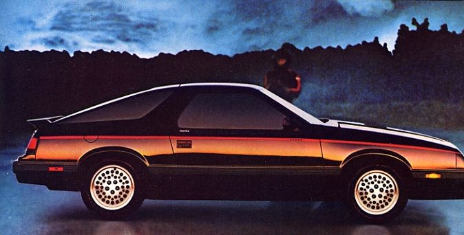 1985 Chrysler Laser #9