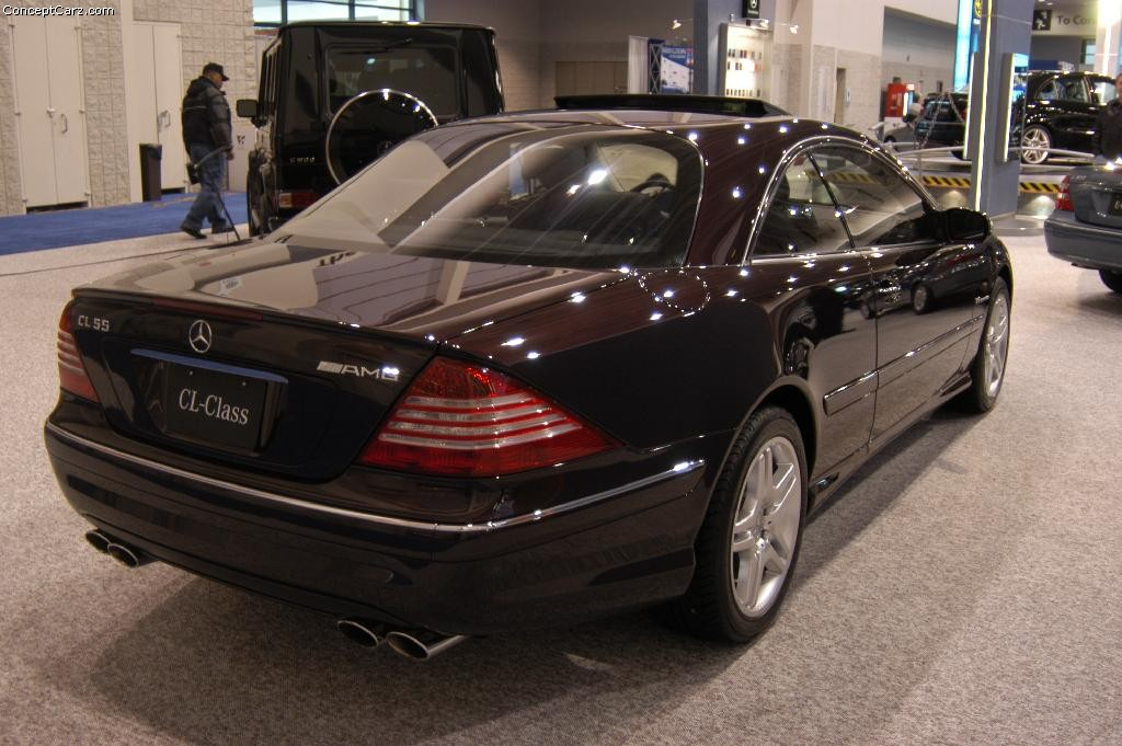 2004 Mercedes-Benz CL #8