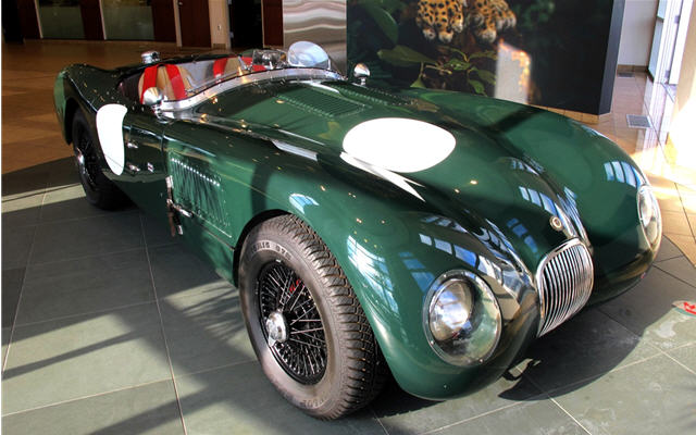 1953 Jaguar C-Type #16