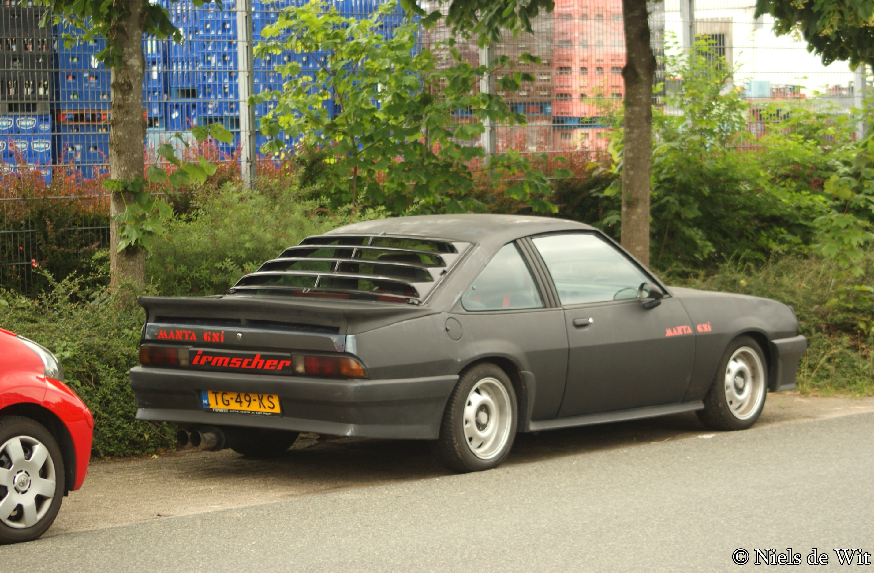 1988 Opel Manta Photos Informations Articles