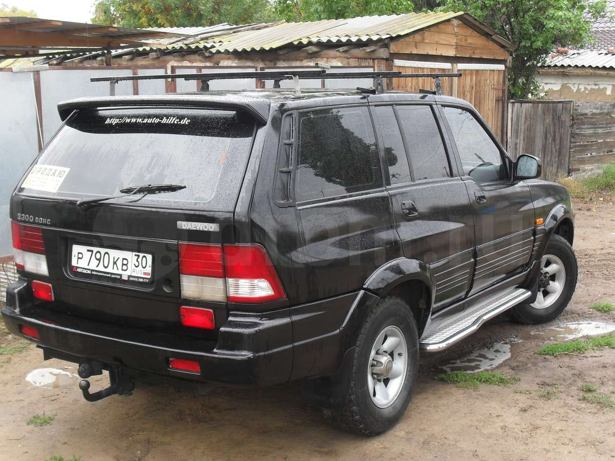 1997 Ssangyong Musso #10