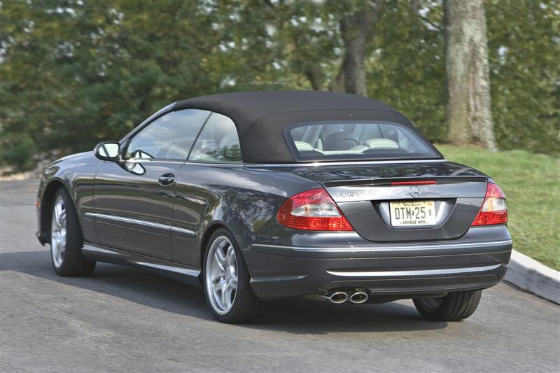 2009 Mercedes-Benz CLK #5