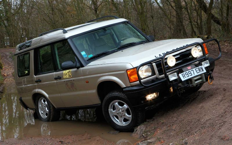 1999 Land Rover Discovery #13