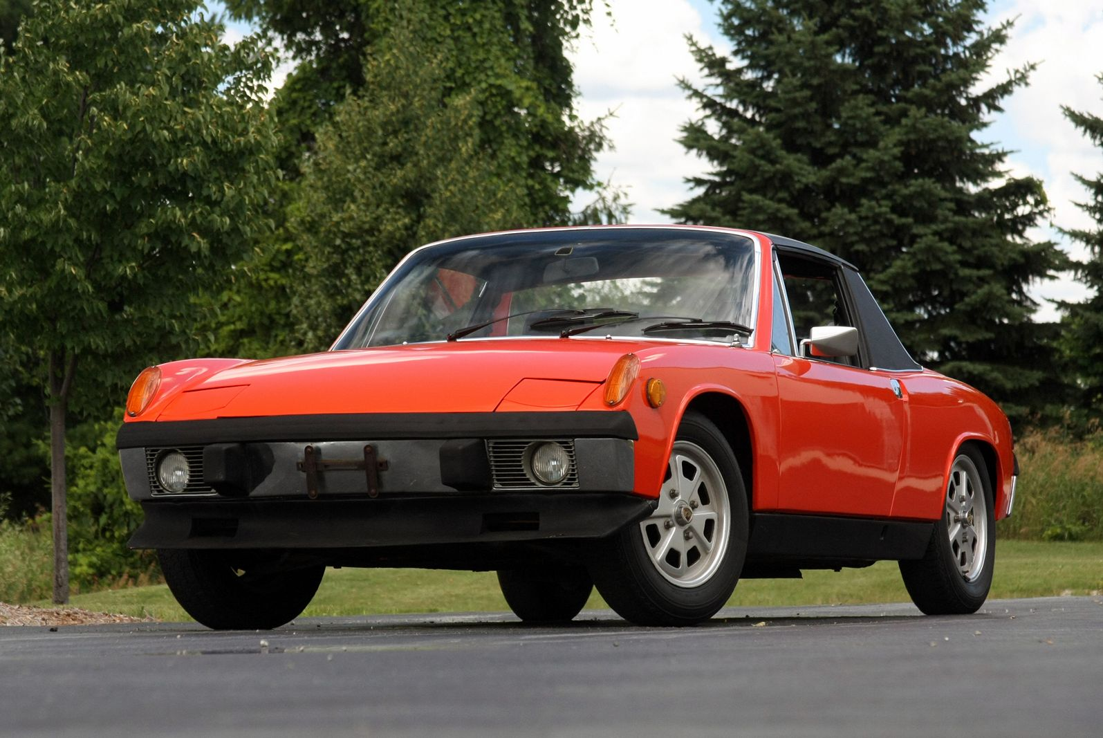 1973 porsche 914 photos informations articles. Black Bedroom Furniture Sets. Home Design Ideas