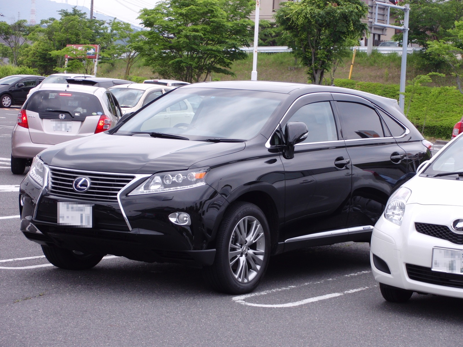 2012 Lexus Rx 450h Photos Informations Articles