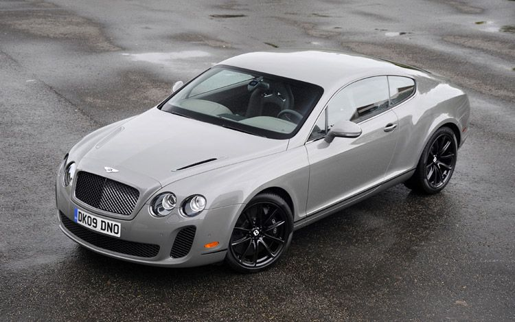 2012 Bentley Continental Supersports #8