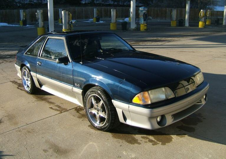 1991 Ford Mustang #9