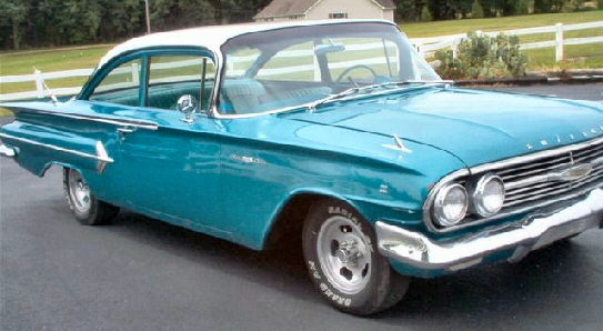 1960 Chevrolet Bel Air #17