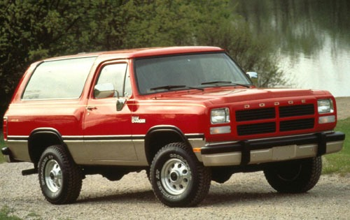 1990 Dodge Ramcharger #13