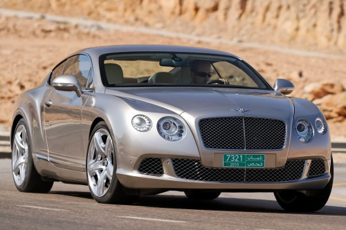 2012 Bentley Continental Gt #7