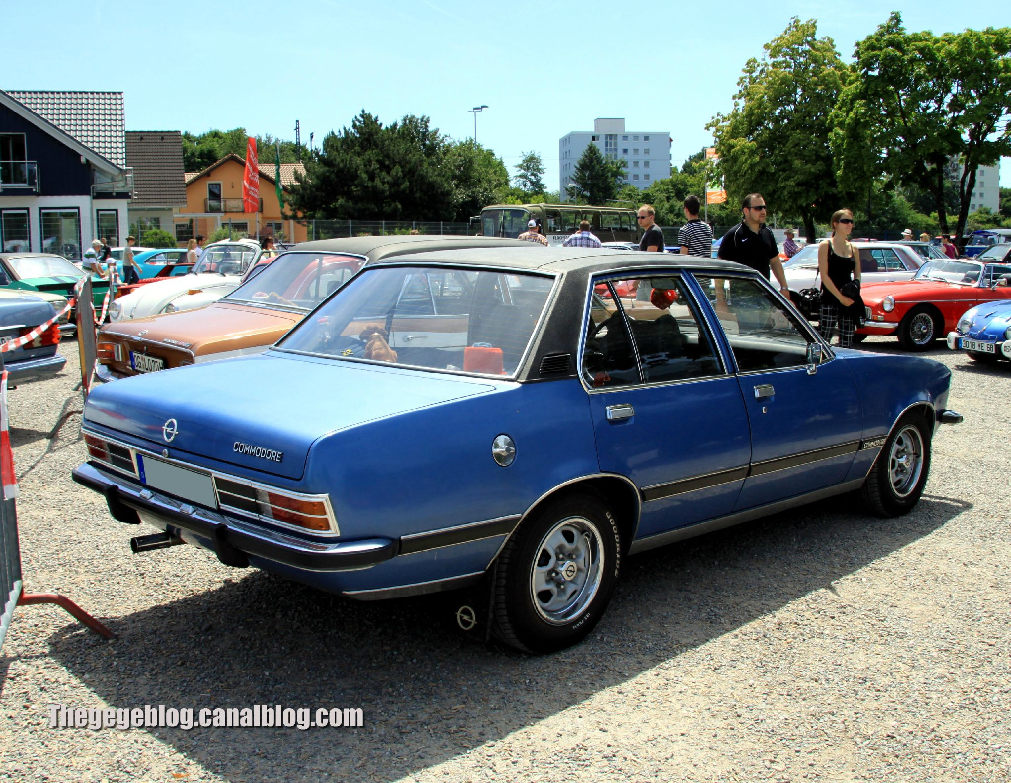 1972 Opel Commodore #3