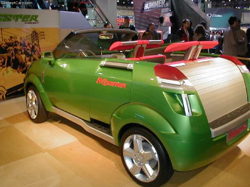 2002 Opel Frogster #7