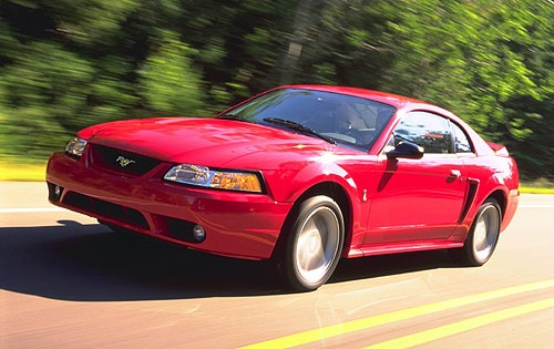 2000 Ford Mustang #4