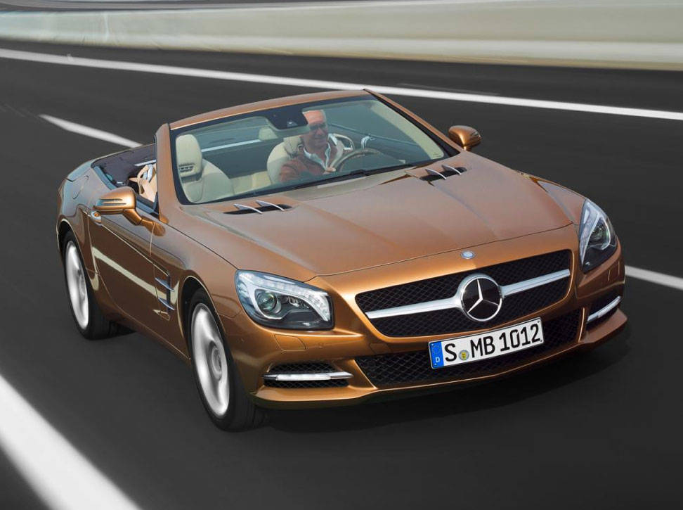 2012 Mercedes-Benz SL #5