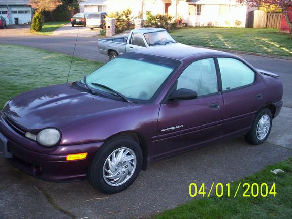 1999 Plymouth Neon #4