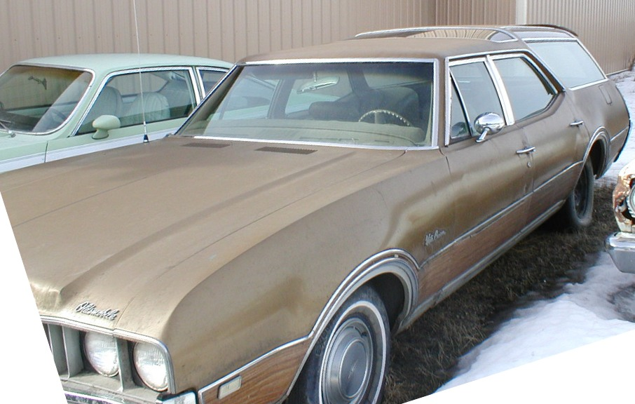 1969 Oldsmobile Vista Cruiser #10