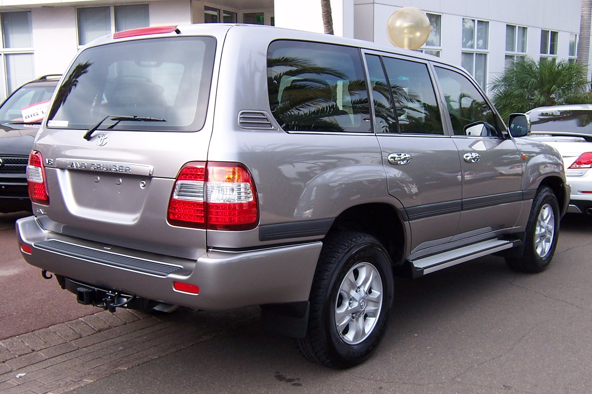 2007 Toyota Land Cruiser #1