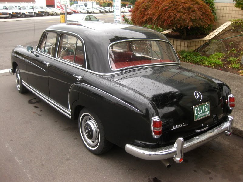 1959 mercedes benz 220 photos informations articles for Mercedes benz 220 s