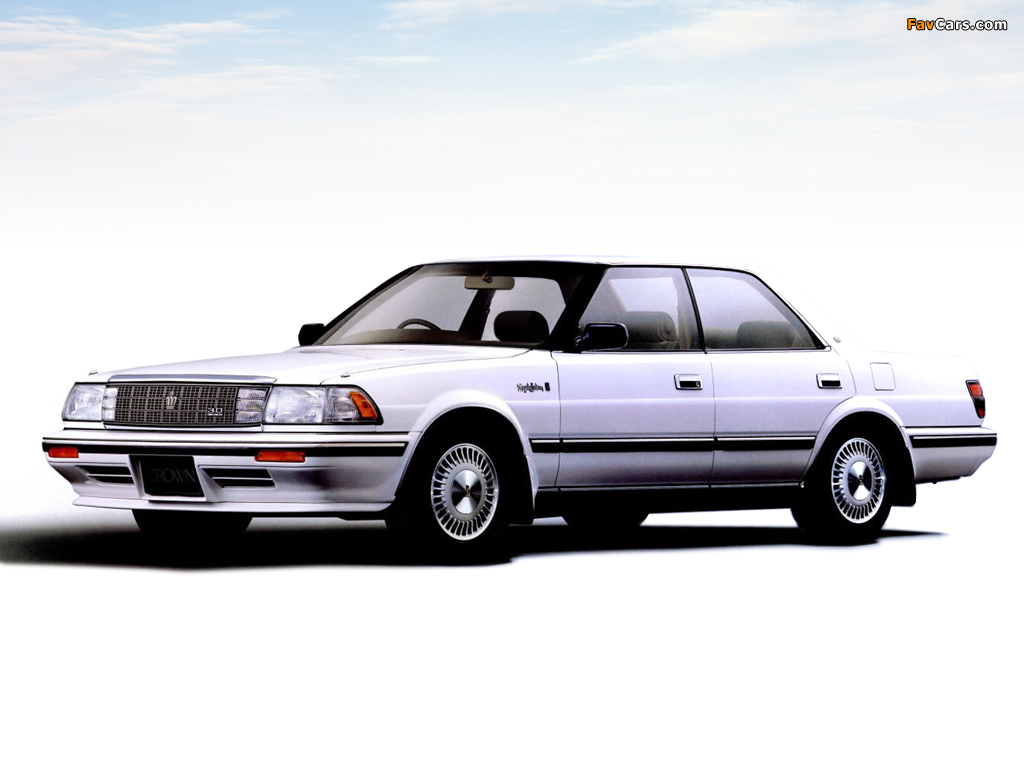 1987 Toyota Crown #1