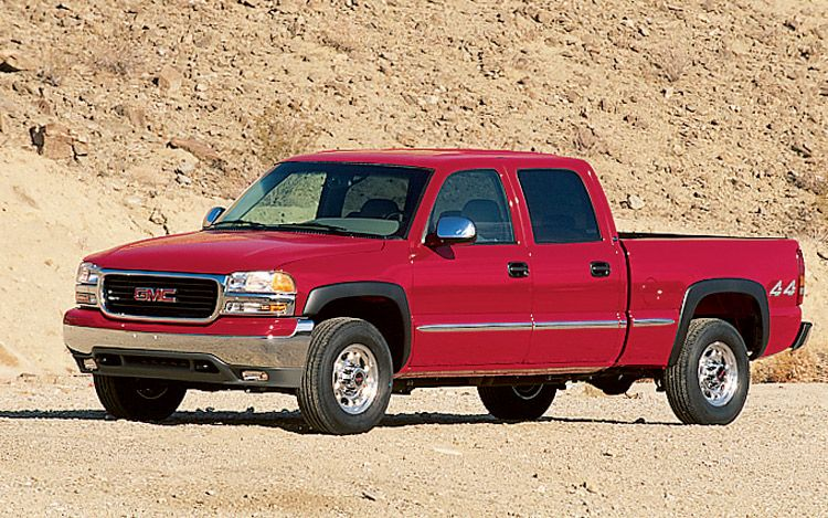 2002 gmc sierra 1500 photos informations articles. Black Bedroom Furniture Sets. Home Design Ideas