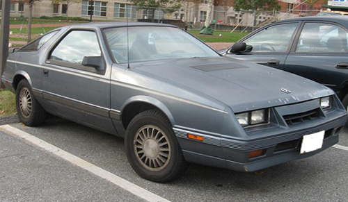 1984 Chrysler Laser #11