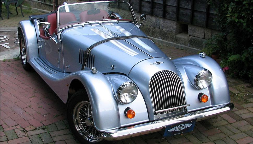 1957 Morgan Plus 4 #13