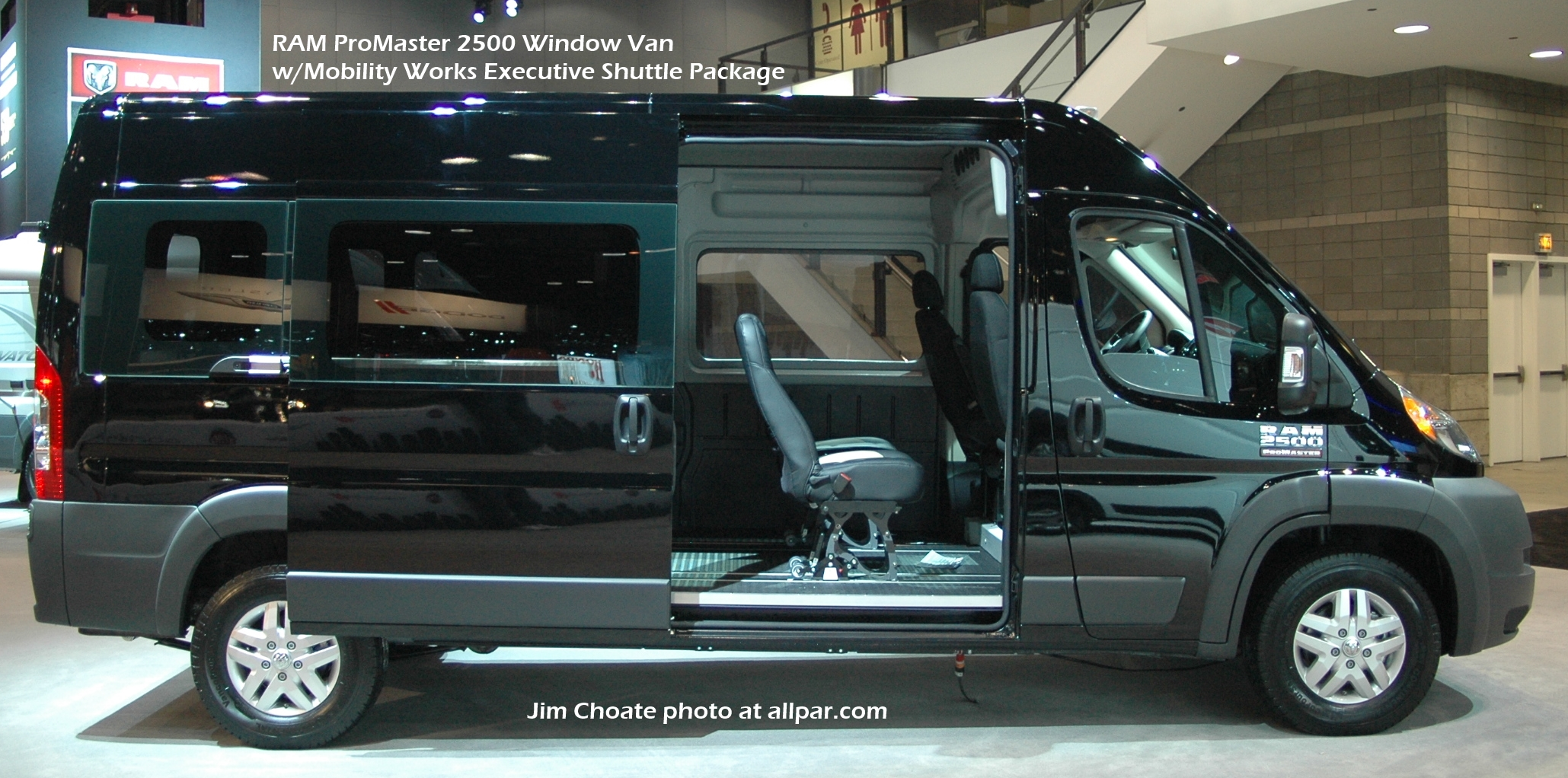 Ram Promaster Window Van #11