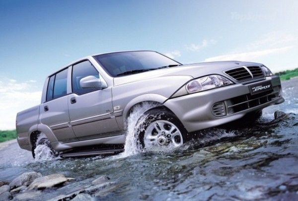 2007 Ssangyong Musso #5