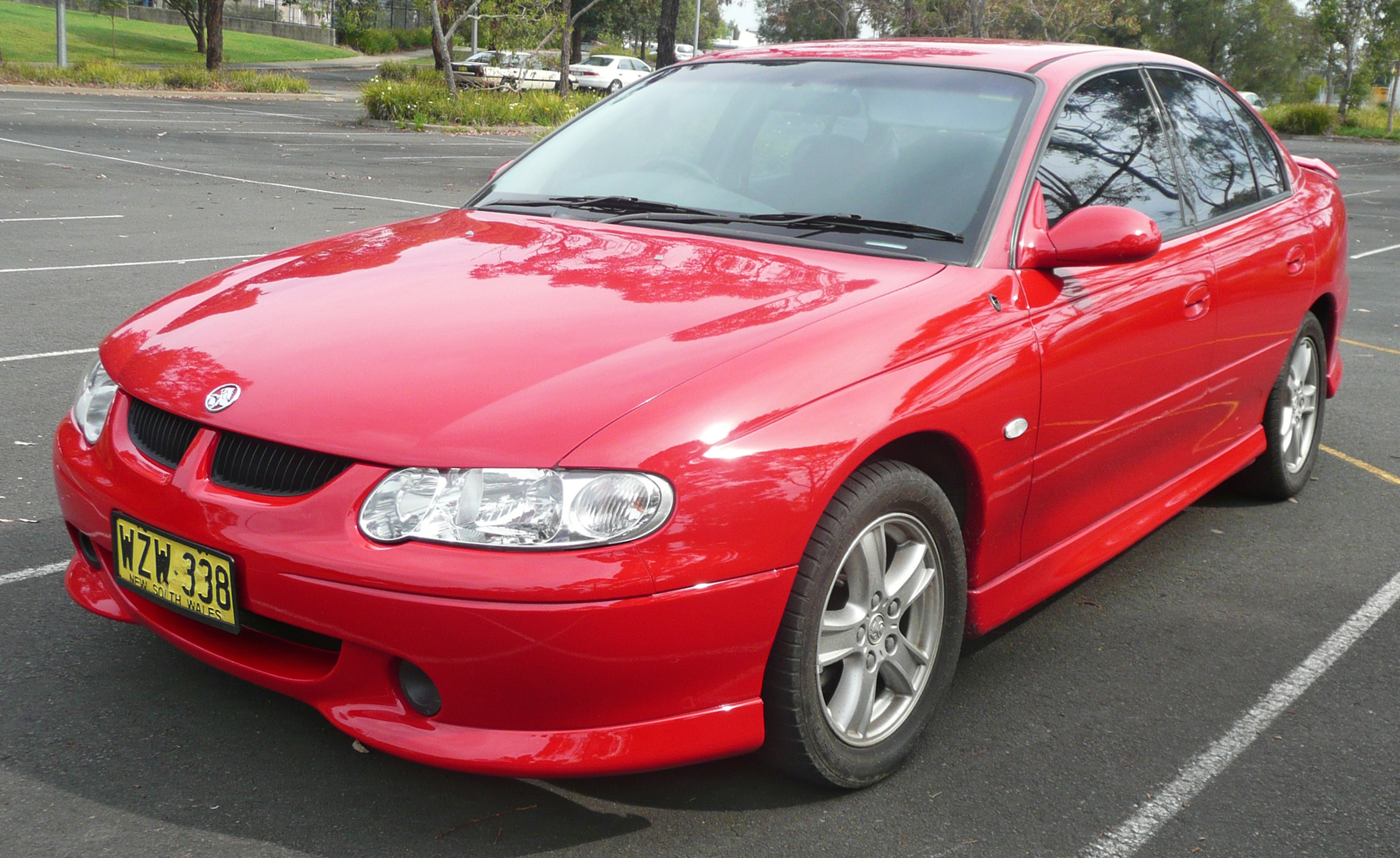 2000 Holden Commodore #3