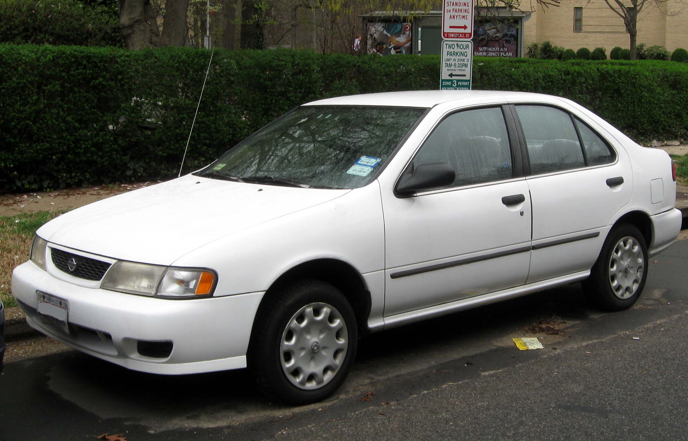 1998 Nissan Sentra Photos Informations Articles