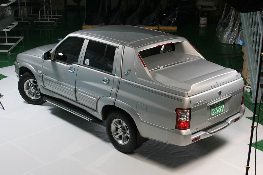 2005 Ssangyong Musso #8
